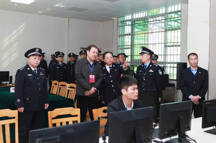 司法部副部长刘志强莅临珠海所调研指导工作